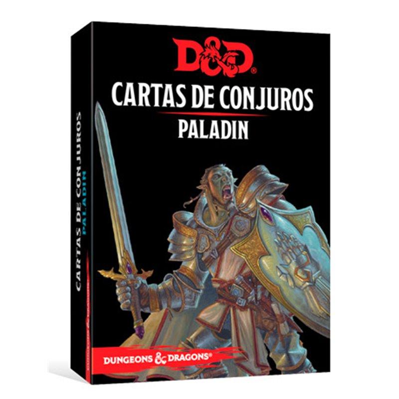 Dungeons & Dragons Cartas de conjuros: Paladin