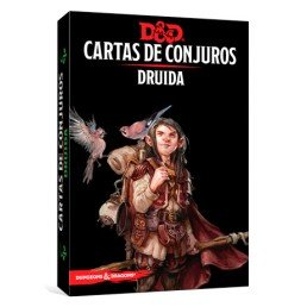 Dungeons & Dragons Cartas de conjuros: Druida