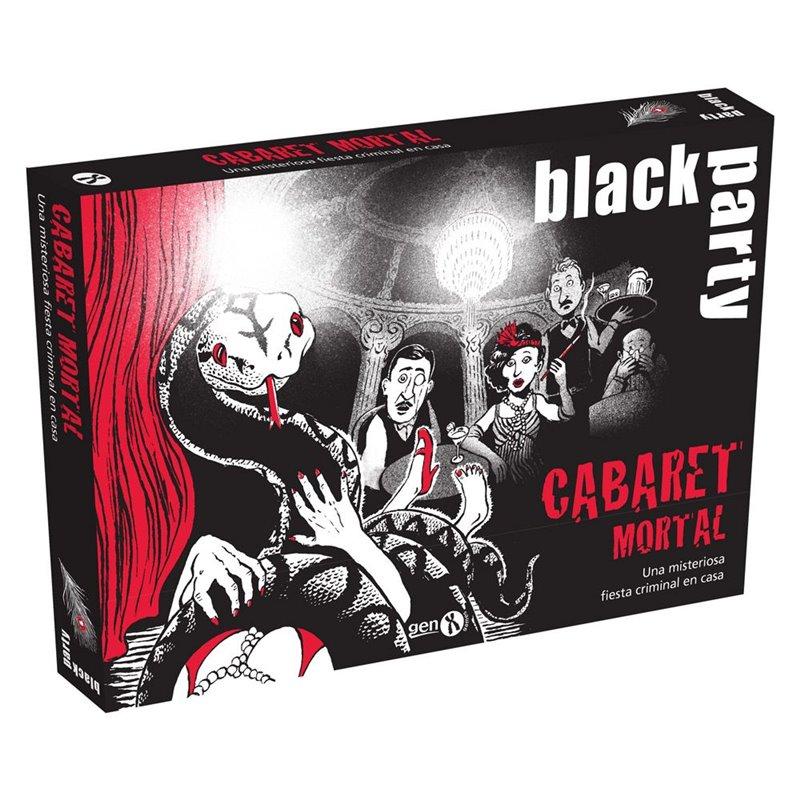Black Party Cabaret Mortal