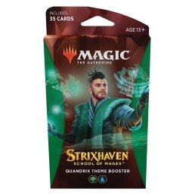 Magic The Gathering Strixhaven Quandrix Theme Booster (Ingles)