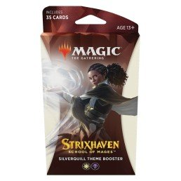 Magic The Gathering Strixhaven Silverquill Theme Booster (Ingles)
