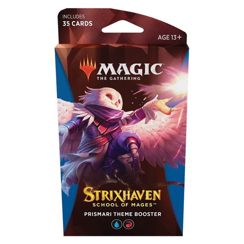 Magic The Gathering Strixhaven Prismari Theme Booster (Ingles)
