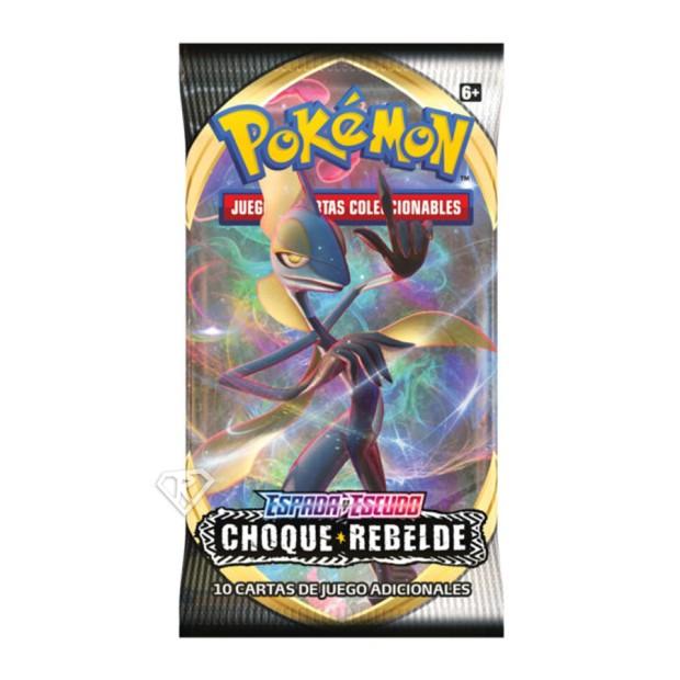 Pokémon Sobre de Espada y Escudo Choque Rebelde (español)