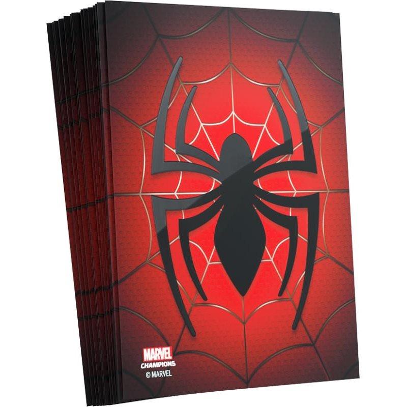 Fundas Spiderman Marvel Champions 66x91mm (50)