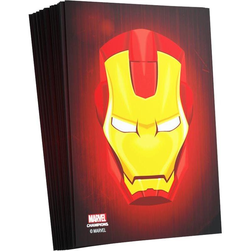 Fundas Ironman Cartas Marvel Champions 66x91mm (50)