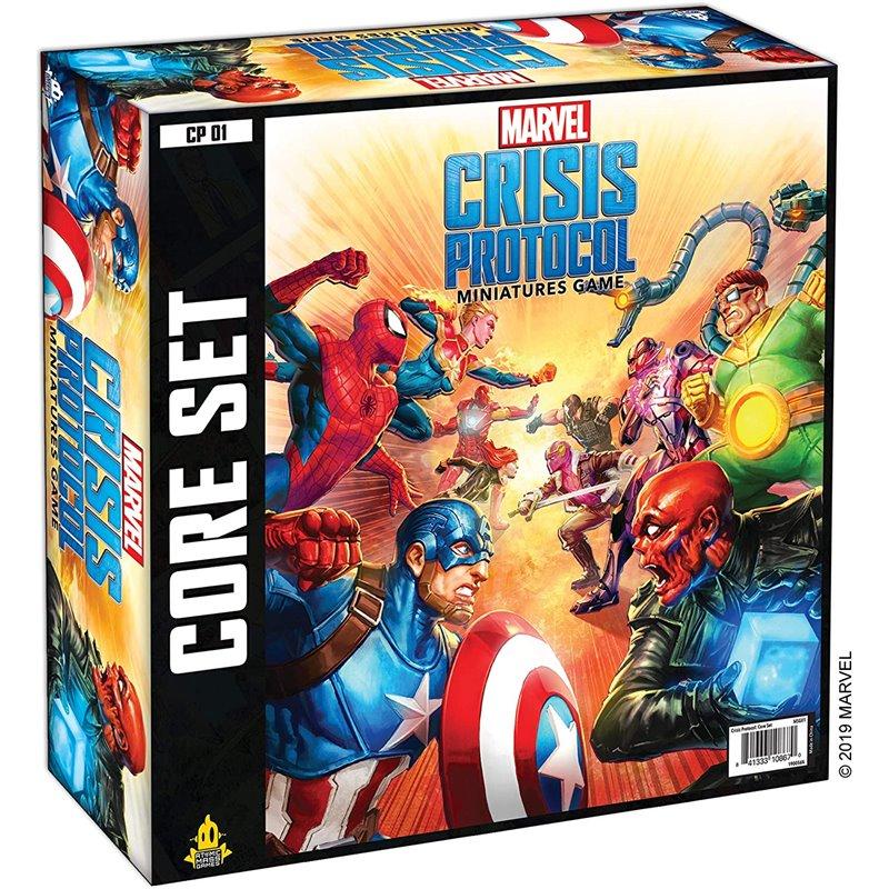 Crisis Protocol Miniatures Game (Ingles)