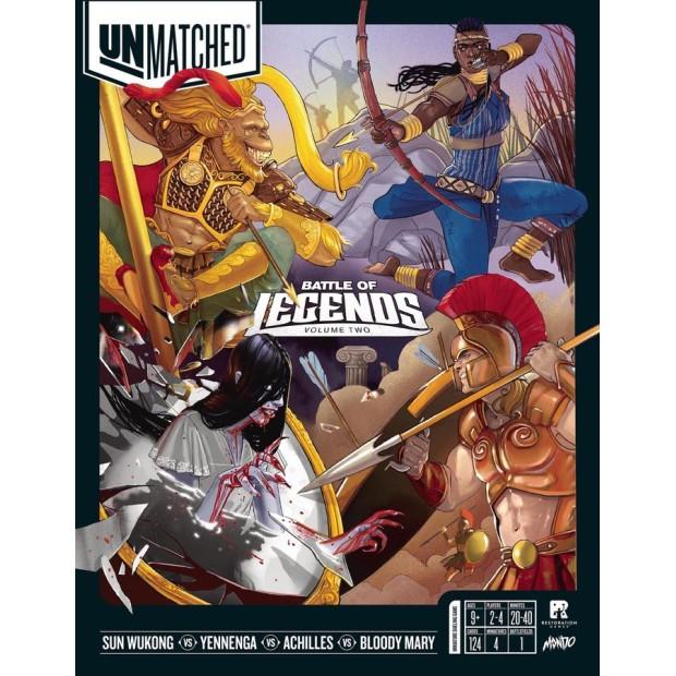 Unmatched: Battle of Legends Volumen 2
